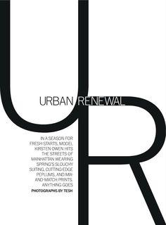 Kirsten Owen in Urban Renewal by Tesh. Alison Edmond, March 2013,