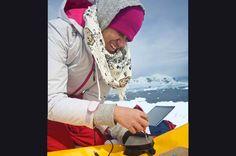 myspectral.com Spectruino Antarctica mission albedo snow
