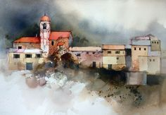Suggesting detail in watercolor, a really informative tutorial from John Lovett.