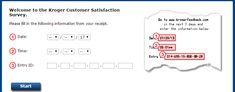 Kroger Feedback Customer Satisfaction Survey: Kroger Feedback (www.krogerfeedback.com) is an online web portal. People take part in Kroger Sweepstakes Survey to win Kroger Feedback Fuel Points, Kroger Gift Cards & Kroger Digital Coupons at Kroger Feedback.