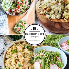 15 Healthy Cauliflower Rice Recipes | HelloNatural.co