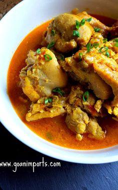 Goan Guisado de Galinha – Chicken StewRecipe ‹ Reader — WordPress.com