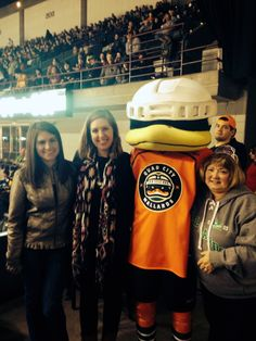 Senior Year: QC Mallard's hockey game for a friend's mom's birthday.
