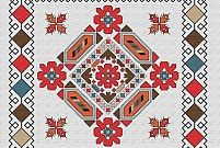 български шевици символика - Google Търсене Palestinian Embroidery, Hungarian Embroidery, Folk Embroidery, Learn Embroidery, Modern Embroidery, Chain Stitch Embroidery, Embroidery Stitches, Embroidery Patterns, Cross Stitch Patterns