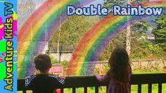 Adventure Kids TV Double Rainbow in Seattle Washington - Amazing Double ...