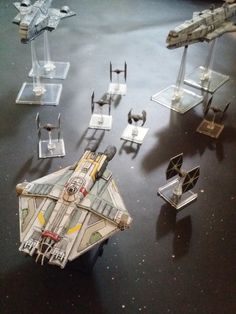 Star Wars: Rebels - Ghost and Gozanti class cruisers