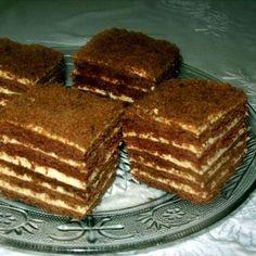 Csokoládés marlenka Recept képpel - Mindmegette.hu - Receptek