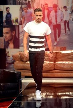 I present to u... Liam Payne the other Victorias Secret Model !!!