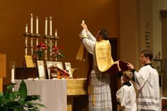 The Elevation of the Holy Eucharist