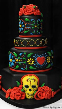 Sic day of the dead cake!