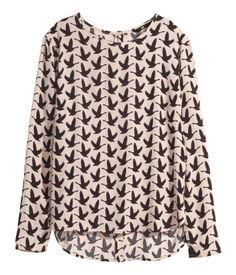 14.95 Long Sleeved Blouse | H&M