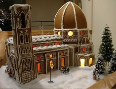 Duomo Florence Italy by Christine Messner Christmas Gingerbread House, Christmas Cookies, Gingerbread Houses, Christmas Houses, Gingerbread Decorations, Gingerbread Cookies, All Holidays, Christmas Holidays, Xmas