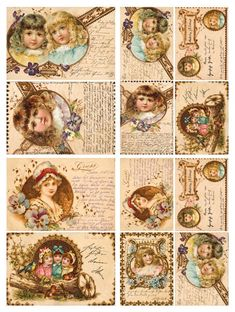 Papier do decoupage Calambour Papier ryżowy DIGITAL COLLECTION DGR16
