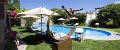 Outdoor pool at Hotel Belmond Casa de Sierra Nevada, San Miguel de Allende, Mexico