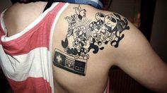 Nintendo tattoo, gotta love the classics Gamer Tattoos, Badass Tattoos, Great Tattoos, Beautiful Tattoos, Body Art Tattoos, Awesome Tattoos, Fun Tattoo, Sick Tattoo, Tattoo Time
