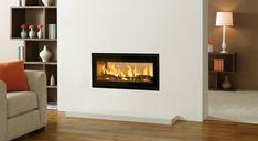 Riva Studio Duplex Inset Wood Burning Fires