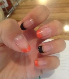 Halloween French Nail Tips @Luuux