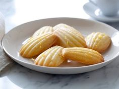 Lemon Madeleines from CookingChannelTV.com