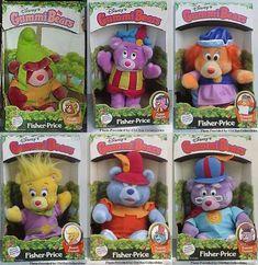 Fisher Price A Frame Gummi Bears plush toy Quick Draw McGraw 1980s Toys, Retro Toys, Vintage Toys, 1980s Childhood, My Childhood Memories, Fisher Price, Care Bears, Jem Et Les Hologrammes, 80s Kids