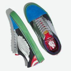 sports shoes e43cf 1b729 New Vans Old Skool Marvel Avengers Multi Men s 4.5 Skate Shoes Limited  Edition  VANS