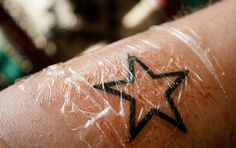To wrap or not to wrap? Although controversial, many swear by the use of plastic wrap to protect a new tattoo and help it heal. In this article, I share what I've learned with my tattoos.