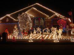 164 best Christmas light displays images on Pinterest | Christmas ...