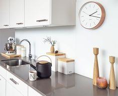 ausblick...   SoLebIch.de - Foto von Mitglied miraculusa #solebich #interior #einrichtung #inneneinrichtung #deko #decor #wanduhr #clock #wallclock #teekanne #küche #kitchen #applicata