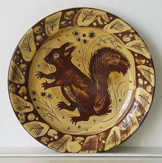 Mark Hearld plate