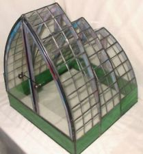 Stained Glass terrarium.