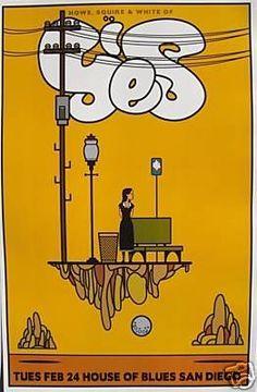Resultado de imagen para poster vintage 80's blues