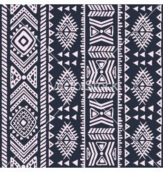 Abstract tribal pattern vector 1561453 - by transia on VectorStock®