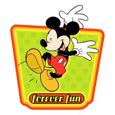 free vector Mickey mouse 36