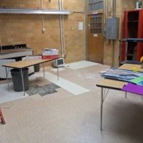 Staff donation to Supplies project at John Marshall High School in Rochester, NY | High Poverty