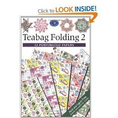 Teabag Folding 2: Contains 22 perforated papers. (Crafter's Paper Library) £5.25