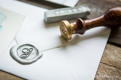 Adding a wax seal to your envelope is a great way to infuse a little flair and elegance into the act of mailing a letter. J. Herbin and Atelier Gargoyle offer a variety of wax