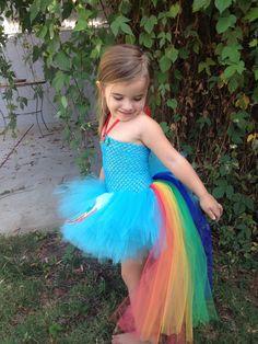 Rainbow Dash dress by Natalie's 2 Cute Tutus. Www.facebook.com/natalies2cutetutus