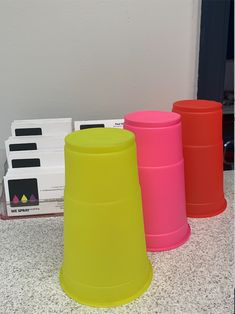 Fluorescent Neon spray - anything is possible.   Call our team on 01527 877129. or send an email:info@wesprayanything.com Retail Interior Design, Anything Is Possible, Painting Techniques, Bespoke, Cups, Neon, Paint Techniques, Taylormade, Mugs