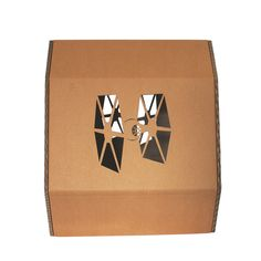 StarWars Imperial Stormtrooper Cardboard Cat House,Cat Furniture Side view