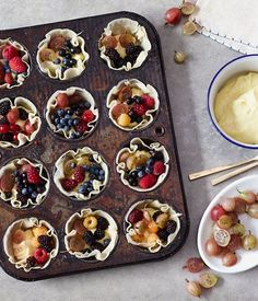Summer Berry Tarts from Oh Joy!.