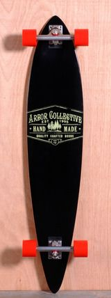 """Arbor 46"""" Timeless Pin Longboard Complete - Reclaimed"""