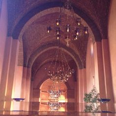 lights design on the ceiling @Hotel Les Deux Tours Marrakech by The Nortj Journal blog