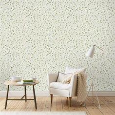 Felix wallpaper - light green - Sandberg Tyg & Tapet