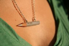 Fancy - Betty Grand Pencil Necklace
