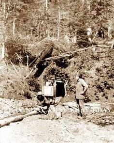 Old Gold Mines | 1890's Entrance to An Old Gold Mine Shaft Mining Miner Prospector ...