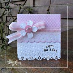 Ideas Birthday Card Diy For Girls My Daughter For 2019 First Birthday Cards, Bday Cards, Handmade Birthday Cards, First Birthdays, Birthday Supplies, Birthday Ideas, Diy Birthday, Diy For Girls, Kids Cards