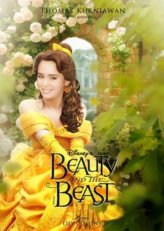 Thomas Kurniawan's Portfolio: Disney Princess : Belle (Beauty and The Beast)