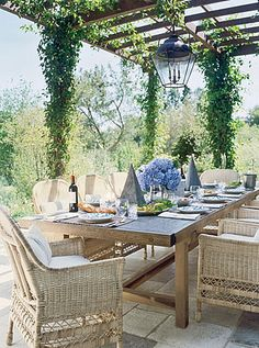 Brabourne Farm: I Wish .... | Love this table & chairs!