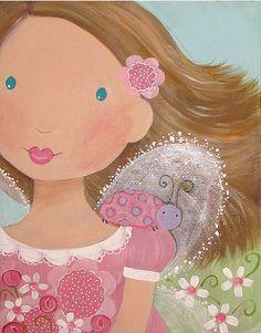Ilustraciones infantiles aibar interpretaci hada thumb - Ilustraciones infantiles antiguas ...