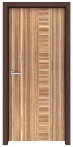 Zebrawood Zephyr Interior Door