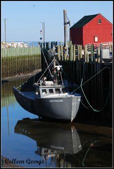 Low Tide Reflections, Hall's Harbour, Nova Scotia